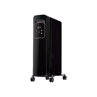 Radiateur à Huile (9 modules) Cecotec ReadyWarm 9000 Touch Connected Black 2000 W Wi-Fi