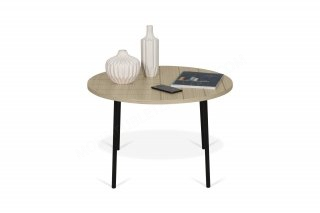 Table basse Ply 70 - chêne/noir TEMAHOME 9003.628726