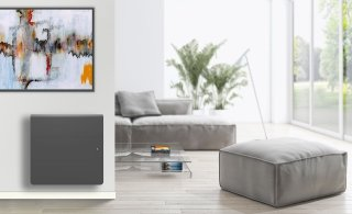 Radiateur à inertie LENA H ANTHRACITE SMART ECO CONTR.2000W APPLIMO 0012167SEHS
