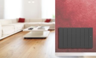 Radiateur Fonte à inertie PEGASE 2 B SMART ECO CONTR.1500W ANTHRACITE APPLIMO 0011955SEHS